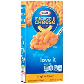 Kraft Macroni and Cheese The Cheesiest, 206g