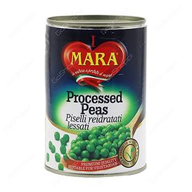 Mara Processed Peas, 400gm