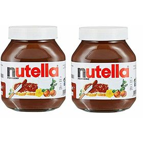 Ferrero Nutella Chocolate Hazelnut Spread, 750 g (Pack of 2)