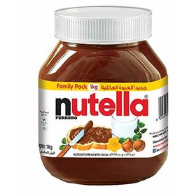 Ferrero Nutella Hazelnut Spread Family Pack (1 Kg)