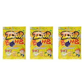 Zour Bomb Candy, Lemon, 110g (Pack of 2)