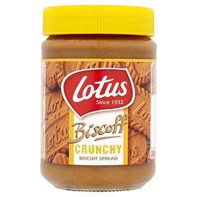Lotus Biscoff Crunchy Biscuit Spread, 380g