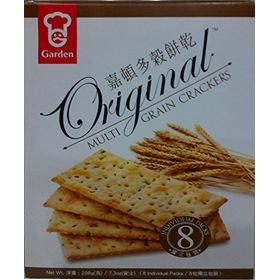 Garden Original Multi Grain Crackers, 208g