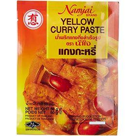 Namjai Yellow Curry Paste, 50g