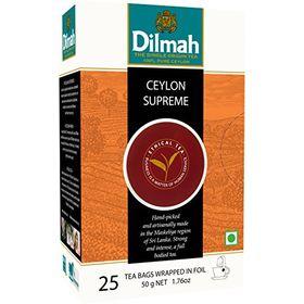 Dilmah Ceylon Supreme Gourmet Tea, 50g