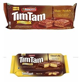 Arnott's Tim Tam Combo of Chocolate Sandwich Biscuit & Cheese Cake Sandwich Biscuit 94.5g