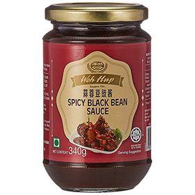 Woh Hup Spicy Black Bean Sauce, 340g