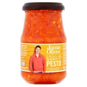Jamie Oliver Chilli and Garlic Pesto, 190g