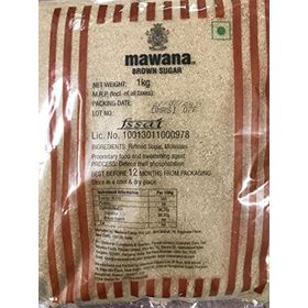 Mawana Select Brown Sugar, 1kg