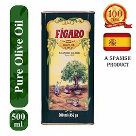 Figaro Olive Oil Tin, 500ml