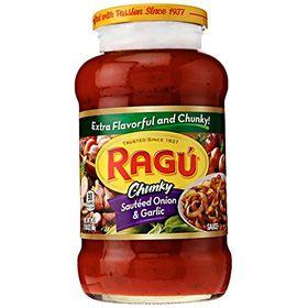 Ragu Sautéed Onion and Garlic Pasta Sauce, 680g
