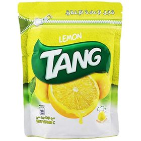 Tang Lemon Drink Powder (Imported) Resealable Pouch, 500g