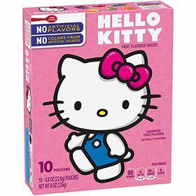 Betty Crocker Hello Kitty Assorted Flavoured Fruit Snack, 226g