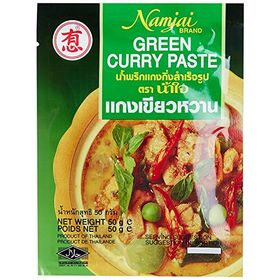 Namjai Green Curry Paste, 50g (pack of 2)
