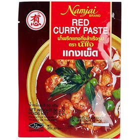 Namjai Red Curry Paste, 50g (Pack of 2)