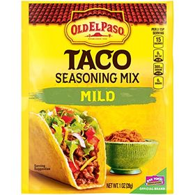 Old El Paso Taco Seasoning Mix MILD, 28g