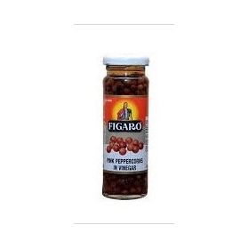 Figaro Pink Peppercorns In Vinegar, 100g