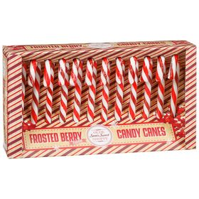 Frosted Berry Candy Canes 12 pack