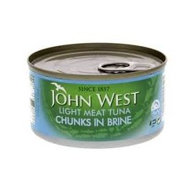 John West Light Meat Tuna Chunks In Brine ,185gms