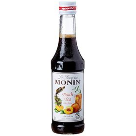 Monin Peach Tea Syrup, 250ml