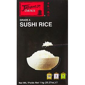 Japanese Choice Uncooked Sushi Rice, 1Kg