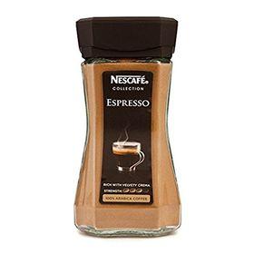 Nescaf?? Espresso 100% Pure Arabica Coffee Rich with Velvety Crema Strength,100gm