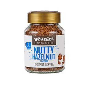 Beanies Instant Coffee, Nutty Hazelnut, 50g