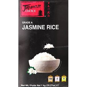Japanese Choice Jasmin Uncooked Rice, 1kg