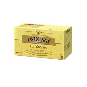 Twinings Earl Grey Tea, 25 Tea Bags - 50g