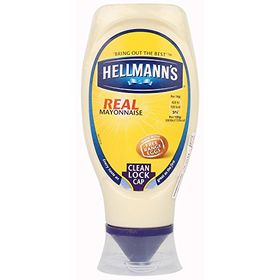 Hellmann's Real Mayonnaise Squeeze Bottle, 430ml