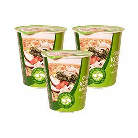 Paldo Original Korean Ramyun Instant Noodle Cup (Vegetarian Flavour) 65g - Set of 3