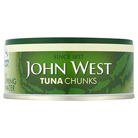 John West Tuna Chunks In Spring Water, 160g