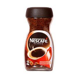 Nescafé Classic Pure Soluble Coffee Jar, 200g - Pack of 2