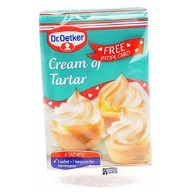 Dr. Oetker Cream of Tartar Sachets (6 x 5 Gm)