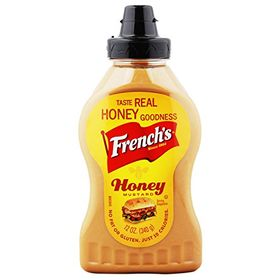 French Mustard, Honey, 340g