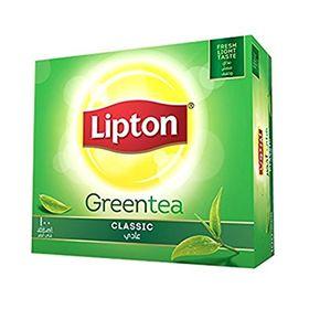 Lipton Green Tea Classic - 100 Tea Bags - 150 Grams (100 * 1.5Grams)