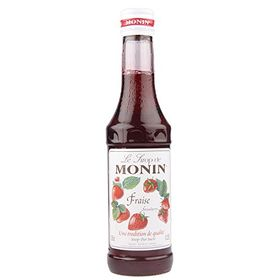 Monin Strawberry Syrup, 250ml