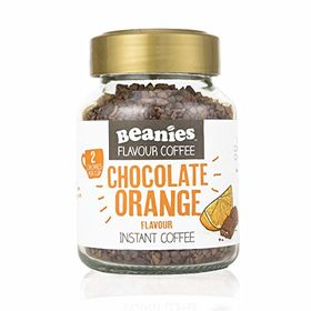 Beanies Chocolate Orange Flavour Instant Coffee, 50g