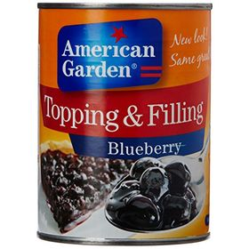 American Garden / Mother Maid Blueberry Pie Filling, 595g