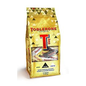 Toblerone Swiss Assorted Tiny Chocolate Pouch, 272 gm (34 Pieces)