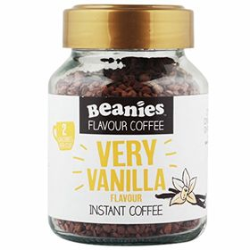 Beanies Very Vanilla Flavour Instant Coffee (50g)