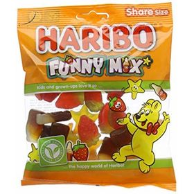 Haribo Funny Mix, 140g (Pack of 2)