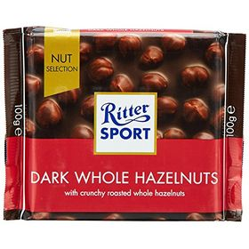 Ritter Sport Dark Whole Hazelnut (100 g)