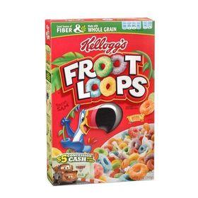 Kelloggs Froot Loops Cereal 10 Oz Box