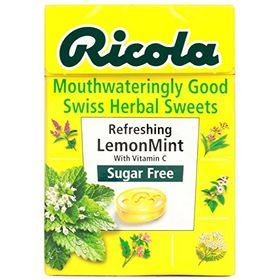 Ricola Refreshing Lemonmint Sugar Free Mint - 40 Grams