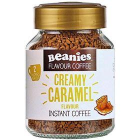 Beanies Creamy Caramel Instant Coffee 50g