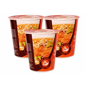 Paldo Original Korean Ramyun Instant Noodle Cup (Hot Flavour),65g - Set of 3