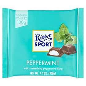 Ritter Sport Peppermint Chocolate, 100g