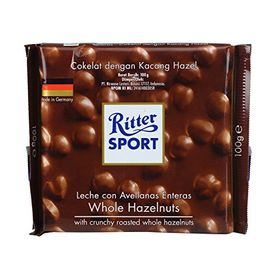 Ritter Sport Whole Hazelnut, 100g