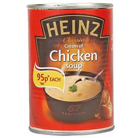 Heinz Cream of Chicken Soup, 400g